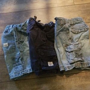 3 pair of 24 month shorts children's place